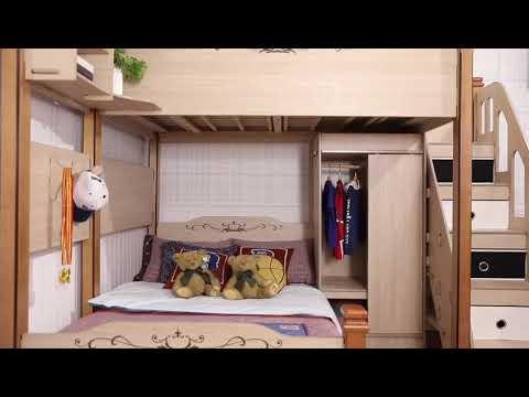 加州风情DIY多功能上下床
