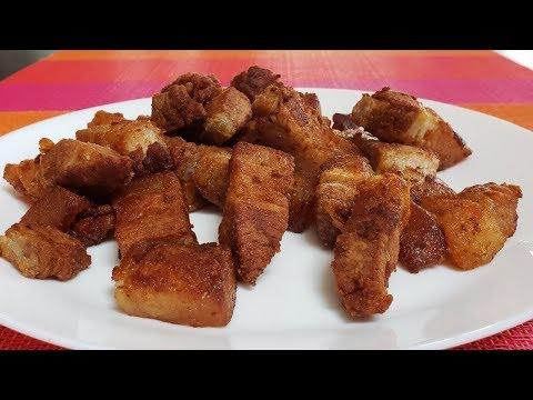 Easy Fried Pork /Receta fácil de cerdo frito