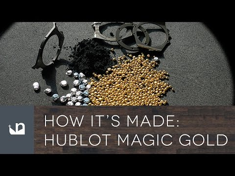 How It's Made – Hublot Magic Gold Watches
