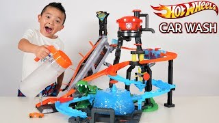 Hot Wheels Ultimate Gator Car Wash Color Shifter Fun With Ckn Toys