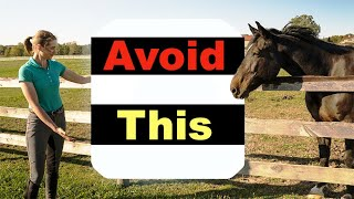 BEGINNER HORSE RIDING MISTAKES - TOP 10 🐴