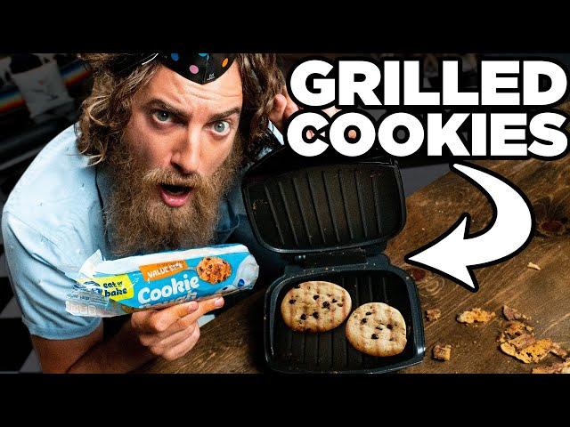 Cookie Dough Panini Taste Test