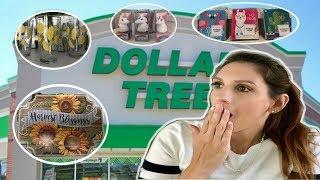 DOLLAR TREE HAUL | FALL 2018 DECOR + NEW UNICORN LIPGLOSS!!