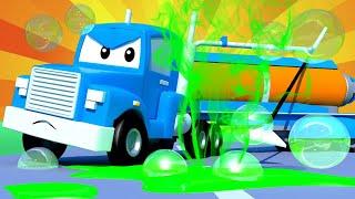 Грузовик пылесос - Трансформер Карл в Автомобильный Город 🚚 ⍟ детский мультфильм