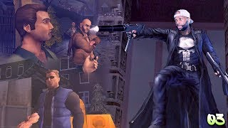 The Punisher Walkthrough Gameplay Part 3 - Mission 3 and 4 - Lucky