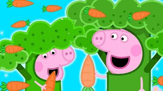 Peppa Pig Official Channel | Peppa Pig Becomes Broccoli at Hollywood?!