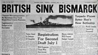 "Johnny Horton ""Sink the Bismarck"" May 1941"