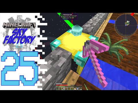 Sky Factory 2.5 (Modded Minecraft) - EP25 - Chunk Loader!