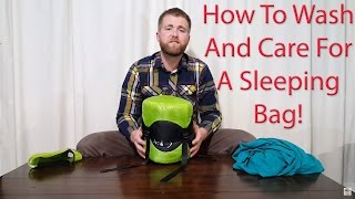How To Wash And Care For Your Sleeping Bag - Outdoor Vitals