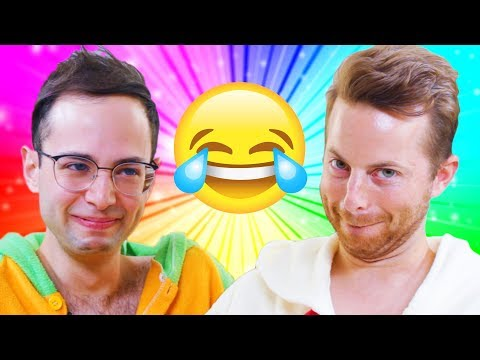 The Try Guys Try Not To Laugh Challenge (видео)