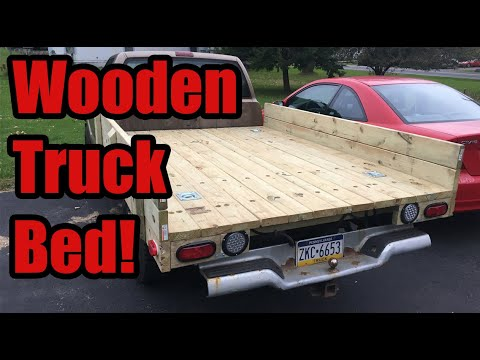 Making a Wooden Truck Bed for my S10