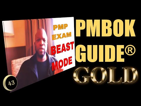 PMBOK GUIDE GOLD #42 - PMP Exam Study BEAST-MODE - 30 ...