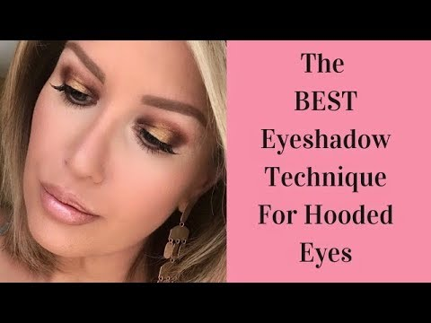 The BEST Eyeshadow Technique For Hooded Eyes?? In Depth Tutorial | Risa Does Makeup