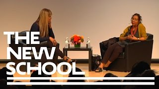 bell hooks and Laverne Cox in a Public Dialogue at The New School
