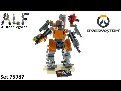 Vidéo LEGO Overwatch 75987 : Bastion Omniaque