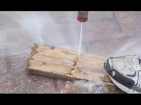 水真的能用來割木板?!被射到肯定非死即傷…千萬不要模仿