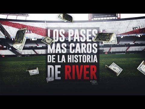 Top 10 Los Pases Mas Caros de la Historia de River Plate