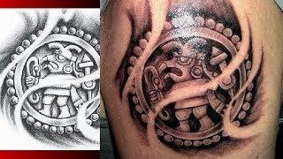 AZTEC TATTOO DESIGNS - Mayan Aztec Inca Prehispanic Tattoo Designs WARVOX.COM