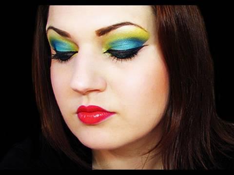 Tropical Color Splash Makeup + Makeup Artist Magazine Interview