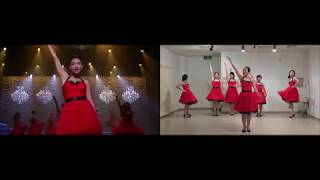 Gleedom - Edge Of Glory (Glee Dance Comparison)