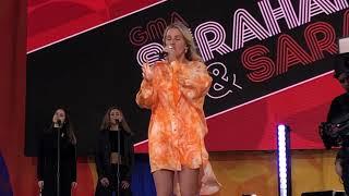 Ellie Goulding Flux 61419 GMA Strahan And Sara Central Park