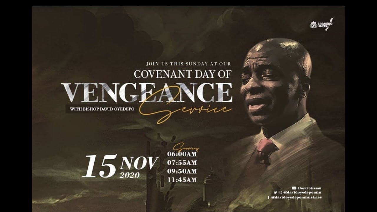 Winners Chapel Live Sunday Service 15th November 2020 with Bishop David Oyedepo