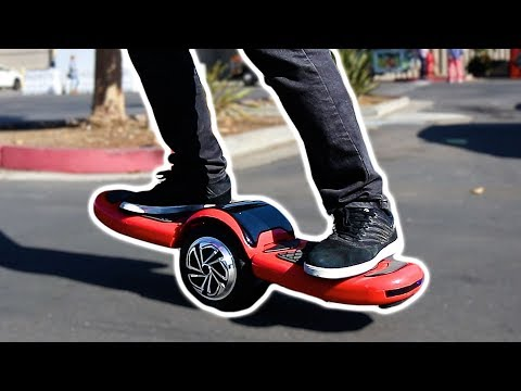 THE CRAZY FREESTYLE HOVERBOARD!