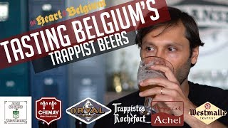 Tasting Belgiums Trappist Beers
