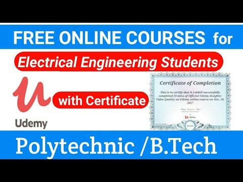 Free online course with certificate for Electrical engineers - YouTube