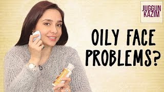 How to Control Oil on Face and Reduce Shine | Beauty Hacks | Juggun Kazim
