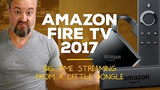 Amazon Fire TV 2017 review! [Donglelife]