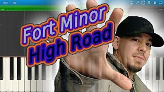 Fort Minor - High Road [Piano Tutorial] Synthesia