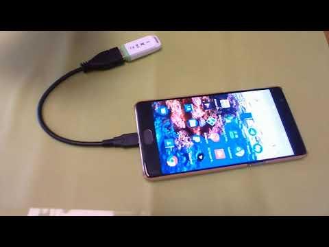 Come collegare cellulare Android a chiavetta USB con OTG