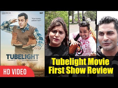 Tubelight Movie Review | Tubelight First Day First Show Review | Salman Khan, Sohail Khan, Matin Rey