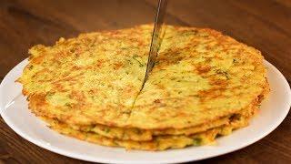 Лепешки на сковороде - самые вкусные лепешки без муки из всех что вы пробовали! | Appetitno.TV