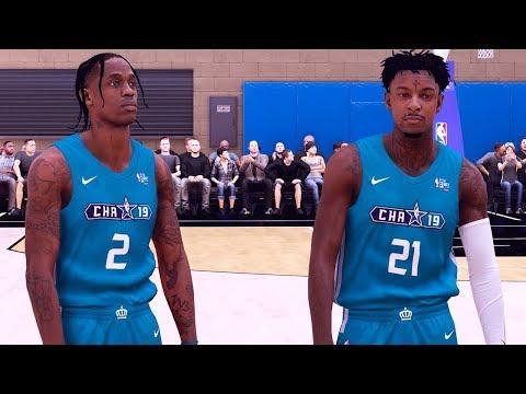 NBA 2K19 My Career - Celebrity All-Star Game Featuring 21 Savage & Travis Scott Ep.11