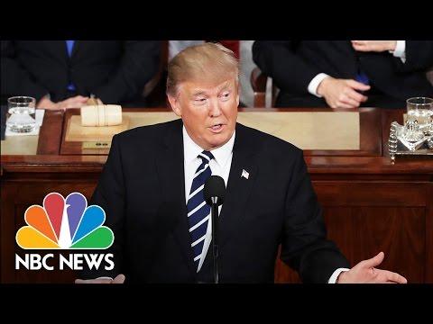 President Donald Trump's 2017 Joint Address To Congress: Full Speech   NBC News