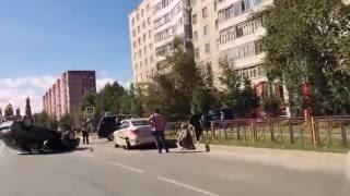 24.08.2016 Авария на ул. Дружбы Народов. Нижевартовск.