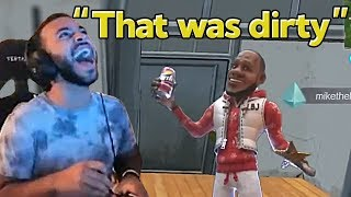 """Hamlinz Reacts to Our Montage """"We Enhanced Dakotaz with this Fortnite Edit"""""""