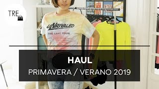 No tengo nada que ponerme | HAUL PRIMAVERA / VERANO 2019 (ZARA, BERSHKA Y SFERA) | TRENDENCIAS
