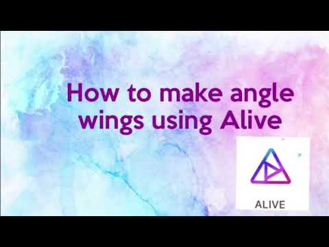How to make angle wings👍🏼👌🏽~ Ava