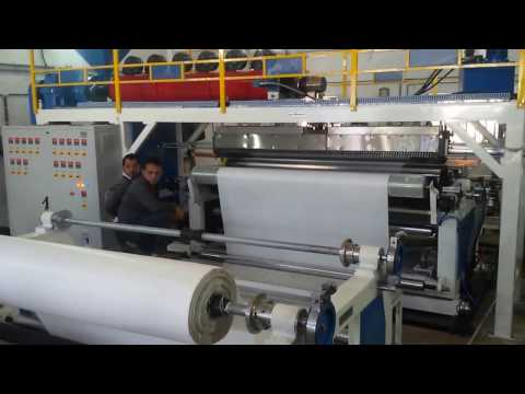 Extrusion Coating Lamination Plant for 12 Ft. Tarpaulin