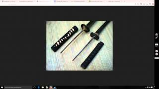 Katana Construction Basics - What Full Tang and Carbon Steel means