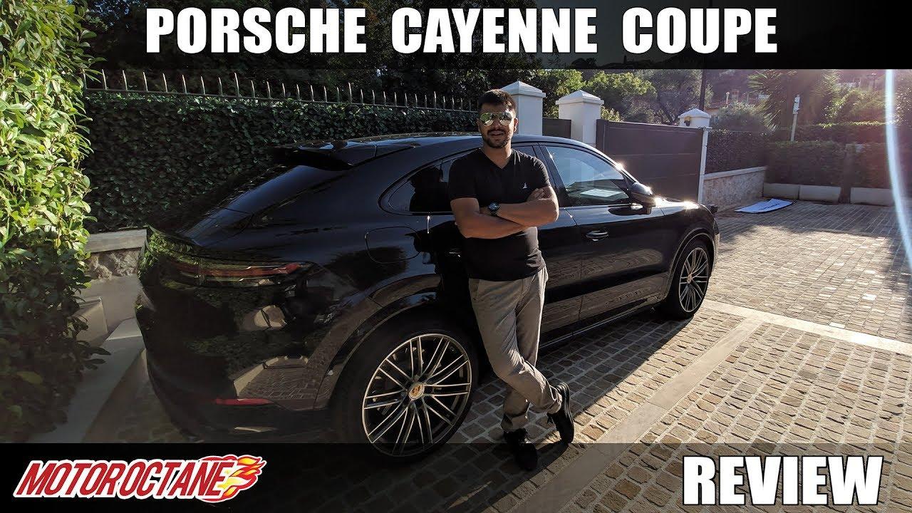 Motoroctane Youtube Video - Porsche Cayenne Coupe Review | Hindi | MotorOctane