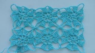 Мотивы безотрывным способом.От простого к сложному 1(knitting motif) (узор#22)