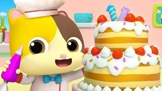 Mèo con mimi làm bánh sinh nhật | Buổi sinh nhật đặc biệt | Nhạc thiếu nhi vui nhộn | BabyBus