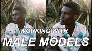5 PORTRAIT PHOTOGRAPHY TIPS | WORKING WITH MALE MODELS