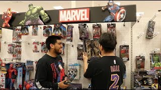 Toy Hunting for Marvel Legends Black Panther and IronMan! Target Run!