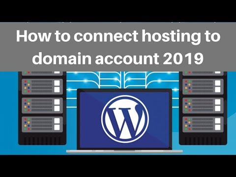 How to connect hosting to domain account 2019