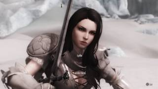 My Skyrim Adventure - Ep 16 - Two Handed Sword Animations